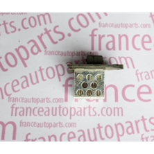 The resistor cooling fan rheostat control, resistance Citroen Berlingo Pegeot Partner 1267E3