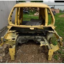 Передние части кузова (левая сторона, ланжерон) Renault Kangoo