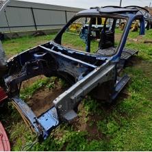 Front parts of the body (left side, spar) Citroen Berlingo