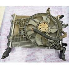 Водяной радиатор и Диффузор Renault Kangoo Mercedes-Benz Citan