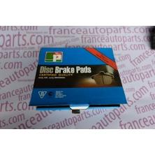 Brake pads rear Renault Kangoo GS8650