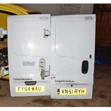 Door rear left high deaf Renault Trafic